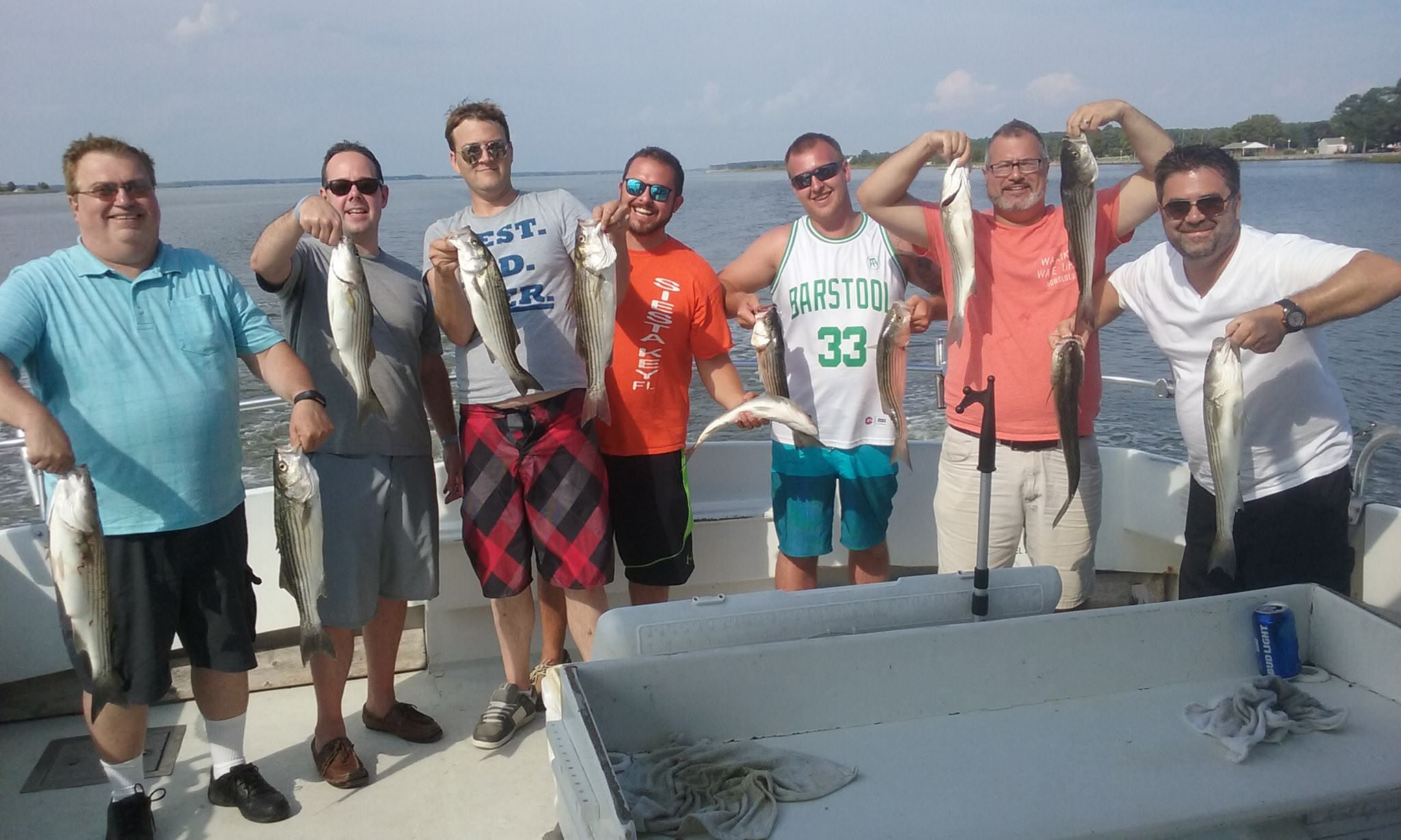 Live-Lining For Striped Bass Continues To Be Hot!