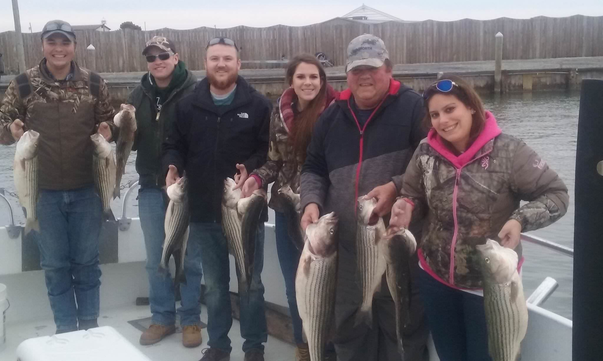 Another Limit Of Rockfish Caught On The Chesapeake Bay!