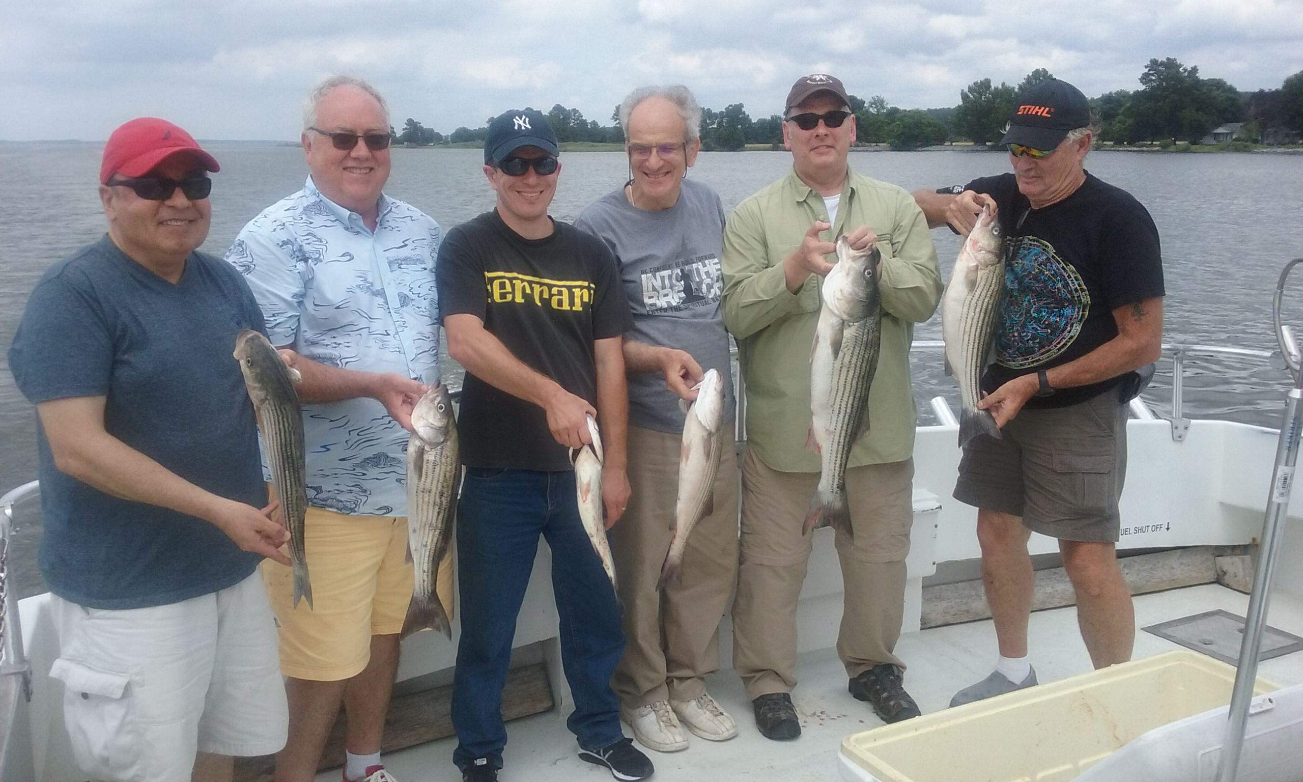 More Rockfish Caught on the Chesapeake Bay with Light Tackle!