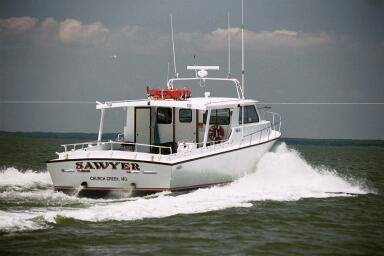 Built in 2002 for the finest in Chesapeake Bay fishing off of Maryland's Eastern Shore, certified for up to 41 passengers!