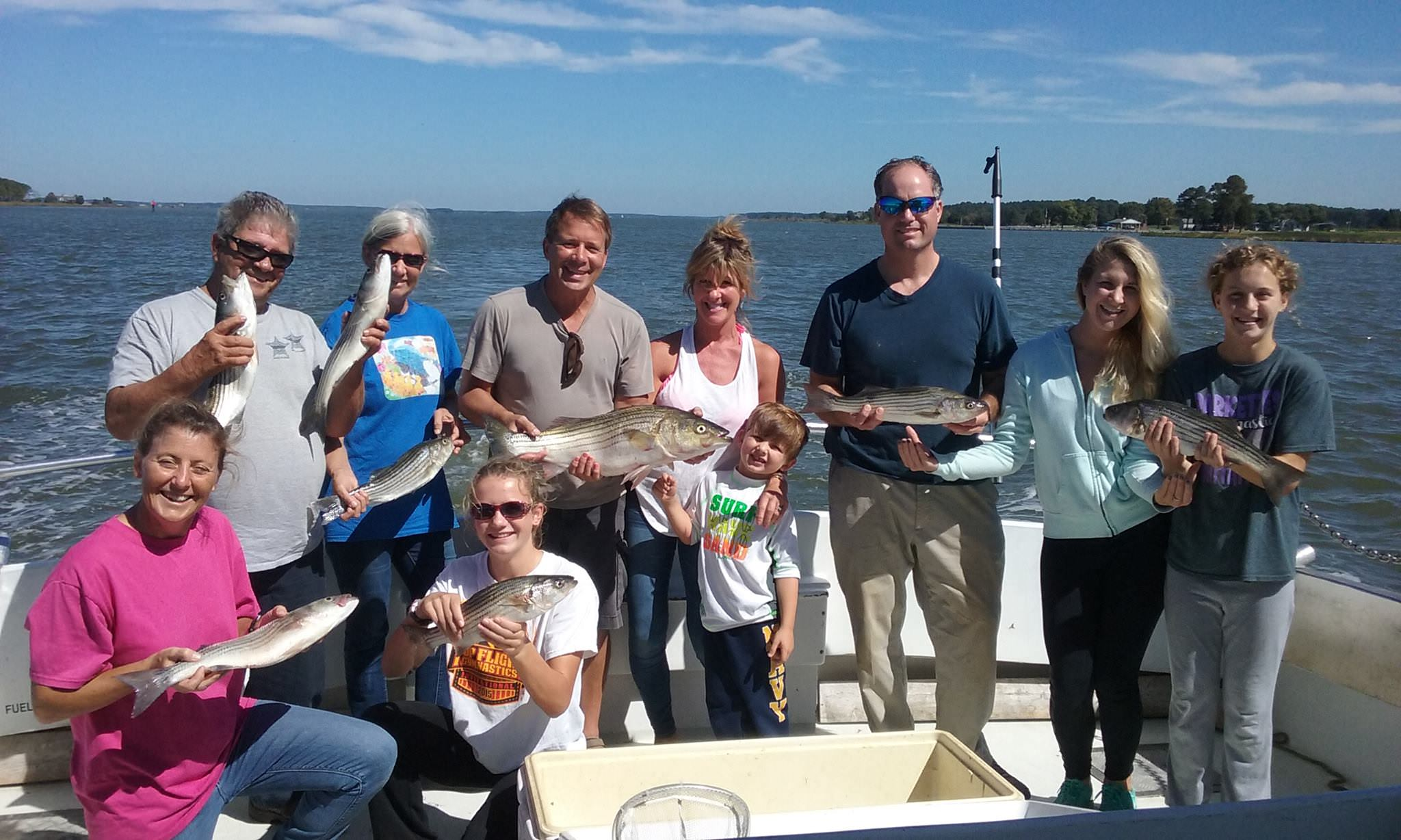 Livelining for Chesapeake Bay Rockfish Continues To Be Hot!
